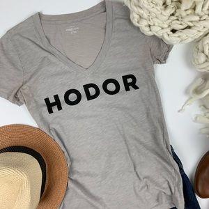 Rare J. Crew Game of Thrones GoT Hodor T S